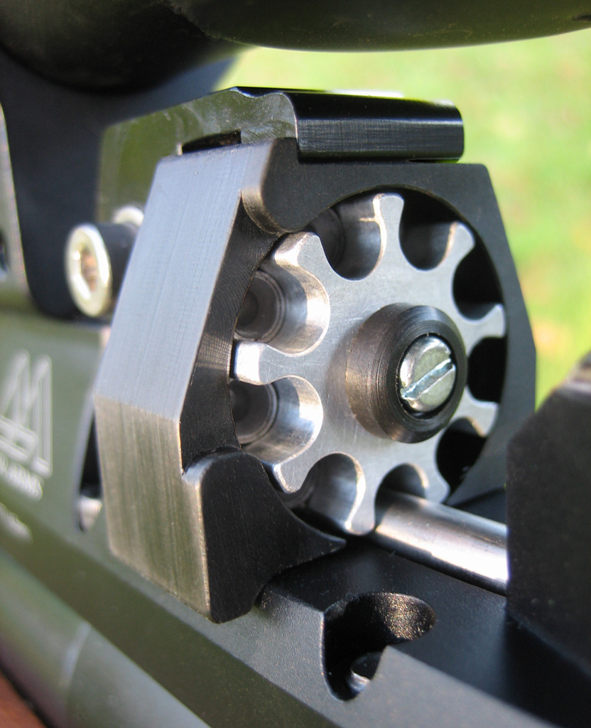 .177 magazine fitted on S400 Classic